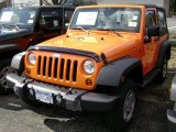2012 Crush Orange Jeep Wrangler Sport 4x4 #61112514