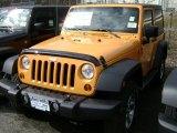 2012 Dozer Yellow Jeep Wrangler Sport 4x4 #61112513