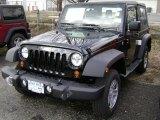 2012 Black Jeep Wrangler Sport 4x4 #61112510