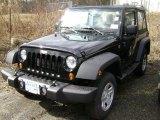 2012 Black Jeep Wrangler Sport 4x4 #61112505