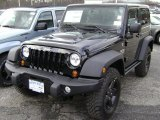 2012 Black Jeep Wrangler Call of Duty: MW3 Edition 4x4 #61112497