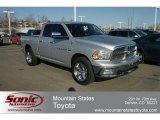 2011 Bright Silver Metallic Dodge Ram 1500 Big Horn Quad Cab 4x4 #61112459