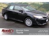 2012 Attitude Black Metallic Toyota Camry LE #61112427