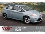 2012 Sea Glass Pearl Toyota Prius 3rd Gen Two Hybrid #61112410
