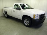 2012 Summit White Chevrolet Silverado 1500 Work Truck Regular Cab #61113019