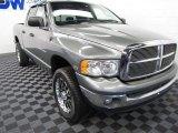 2005 Mineral Gray Metallic Dodge Ram 1500 Laramie Quad Cab 4x4 #61113015