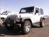 2006 Stone White Jeep Wrangler Rubicon 4x4 #61113014