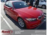 2007 Crimson Red BMW 3 Series 335i Sedan #61112873