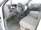 2007 Dodge Ram 3500 SLT Quad Cab 4x4 Utility Truck Khaki Interior