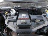 2007 Dodge Ram 3500 SLT Quad Cab 4x4 Utility Truck 6.7 Liter OHV 24-Valve Turbo Diesel Inline 6 Cylinder Engine