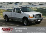 2000 Oxford White Ford F250 Super Duty XLT Extended Cab 4x4 #61166978