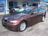 2006 Barrique Red Metallic BMW 3 Series 325i Sedan #61113449