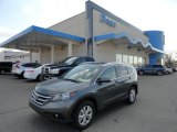 2012 Polished Metal Metallic Honda CR-V EX-L 4WD #61167303