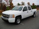 2008 Summit White Chevrolet Silverado 1500 LT Crew Cab #61167249