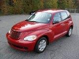 2007 Chrysler PT Cruiser Inferno Red Crystal Pearl