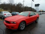 2011 Race Red Ford Mustang V6 Premium Convertible #61112748