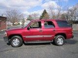 2005 Sport Red Metallic Chevrolet Tahoe LS 4x4 #61113331