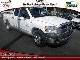 2008 Bright White Dodge Ram 1500 SXT Quad Cab #61113300