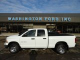 2003 Bright White Dodge Ram 1500 SLT Quad Cab 4x4 #61167148