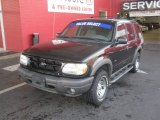 Black Ford Explorer in 2000