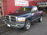 2006 Patriot Blue Pearl Dodge Ram 1500 ST Regular Cab #61074824