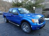 2012 Blue Flame Metallic Ford F150 STX SuperCab 4x4 #61167076