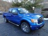 2012 Blue Flame Metallic Ford F150 STX SuperCab 4x4 #61167076