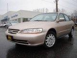 2002 Naples Gold Metallic Honda Accord LX Sedan #6085174