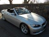 2007 Titanium Silver Metallic BMW 3 Series 335i Convertible #61167072