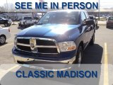 2011 Deep Water Blue Pearl Dodge Ram 1500 SLT Quad Cab 4x4 #61242075