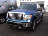 2012 Blue Flame Metallic Ford F150 XLT SuperCab 4x4 #61242069