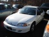 2002 Bright White Chevrolet Cavalier Sedan #61241811