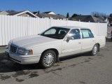 1997 White Cadillac DeVille Sedan #61242313