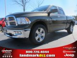 2012 Sagebrush Pearl Dodge Ram 1500 Big Horn Quad Cab #61241761