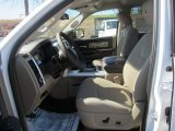 2012 Dodge Ram 1500 Mossy Oak Edition Crew Cab 4x4 Light Pebble Beige/Bark Brown Interior