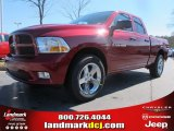 2012 Deep Cherry Red Crystal Pearl Dodge Ram 1500 Express Quad Cab #61241758