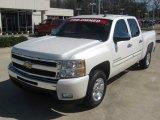 2011 White Diamond Tricoat Chevrolet Silverado 1500 LT Crew Cab #61241965