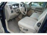2008 Dodge Ram 1500 SLT Mega Cab 4x4 Khaki Interior