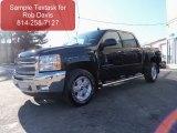 2012 Black Chevrolet Silverado 1500 LT Crew Cab 4x4 #61241675