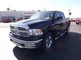 2012 Black Dodge Ram 1500 Big Horn Crew Cab 4x4 #61241945