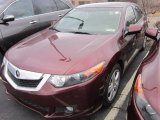 2010 Basque Red Pearl Acura TSX Sedan #61241588
