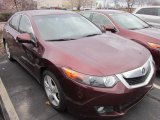 2010 Acura TSX Basque Red Pearl