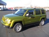 2012 Rescue Green Metallic Jeep Patriot Sport 4x4 #61242132