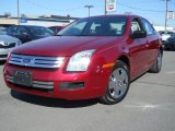 2008 Redfire Metallic Ford Fusion S #61241841