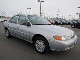 2001 Silver Frost Metallic Ford Escort SE Sedan #61288550