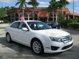 2010 White Platinum Tri-coat Metallic Ford Fusion SEL #61288227