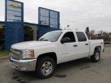 2012 Summit White Chevrolet Silverado 1500 LT Crew Cab 4x4 #61288209