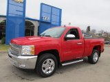 2012 Victory Red Chevrolet Silverado 1500 LT Regular Cab 4x4 #61288208