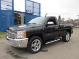 2012 Black Chevrolet Silverado 1500 LT Regular Cab 4x4 #61288207