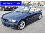 2006 Mystic Blue Metallic BMW 3 Series 330i Convertible #61288200